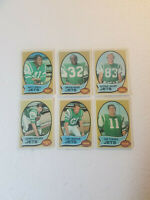 1970 Topps Jets Cards  VG