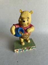 """More details for disney traditions """"hunny of a bear"""" winnie the pooh figurine rare showcase"""