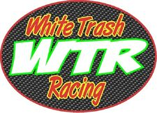 White Trash Racing WTR S-10 CK1500 2500 Truck Window sticker decal NTPA Hot Rod