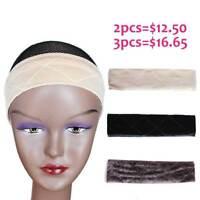 Adjustable Head Hair Band Velvet Wig Grip Scarf With Grip Headband Flexible 1pc