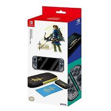Official HORI Zelda Breath of the Wild Starter Kit for Nintendo Switch NEW