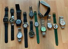 Konvolut / Sammlung Armbanduhren Swatch, Ruhla, Citizen, Seiko, Esprit usw