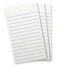 #8501 - WELLSPRING FLIP NOTE PAD REFILL WHITE PAPER WITH LINES 3 PADS