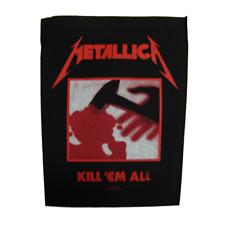 Metallica Official Backpatch Kill Em All Parche de Espalda U. S. Thrash Metal