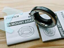 Genuine Fujifilm X to Leica M Adapter