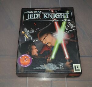 Jeu PC Star Wars Jedi Knight Dark Forces II / Big Box / Complet