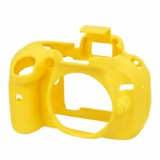 Easy Cover Nikon D5200 D 5200 Camera Silicone Skin Case Yellow Yellow