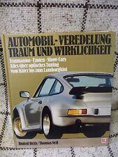 Automobil Veredelung Traum und Wirklichkeit Traumautos Exoten Show Cars 1986