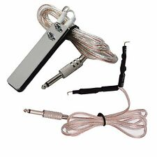 Tattoo Clip Cord and  Foot Pedal Switch for Power Supply Machine Gun Kit
