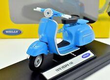 COLLEZIONE MODELLINI VESPA 150 MOTO SCALA 1/18 MOTOR BIKE ASTA WELLY  MOTORBIKE