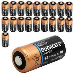 CR123 / CR17345  Duracell Lithium Batterie speziell für Arlo HD Kamera mit Box