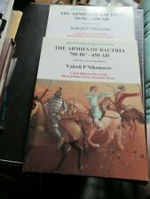 MONTVERT-THE ARMIES OF BACTRIA, 700BC-450AD - TWO VOLUMES - VERY GOOD CONDITION