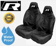 VOLKSWAGEN PASSAT R-LINE CAR SEAT COVERS x2  |  PROTECTORS  |  BEST QUALITY