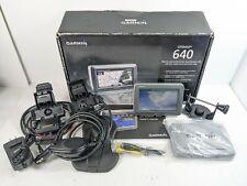 Garmin GPSMAP 640 Car Marine GPS Chartplotter Fishfinder w/ cover cable mounts