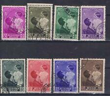 Belgium 1937 Utility Fund  SG 787-94 Used