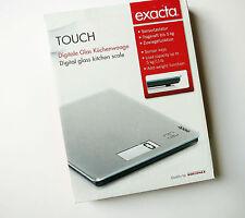 Leifheit KWD Exacta Touch - digitale Kuechenwaage