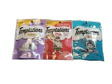 Assorted Temptations Cat Treats Backyard Cookout/Tuna/Creamy Diary (3) 1.7oz bag