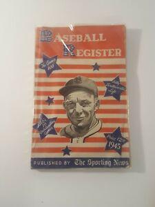 "1945 The Sporting News Baseball Register - The ""400"" Games & More!!!"