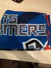transformers Blue Fleece Blanket