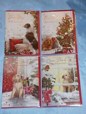 CHRISTMAS CARD TO THE DOG HAPPY CHRISTMAS FROM THE DOG PET MERRY CHRISTMAS CUTE