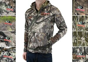 EHG Men's Hoodie Elite Teton 2-Pocket Quarter Zip Technical Hunting MWCQ009