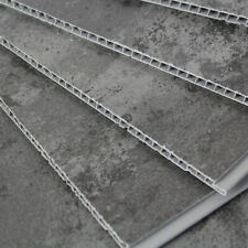 6 Loft Concrete Grey Bathroom Wall Panels Shower Wet Wall PVC Kitchen Cladding