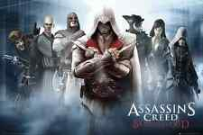 ASSASSINS CREED BROTHERHOOD PS3 XBOX 360 POSTER  FP2488 (Y8)