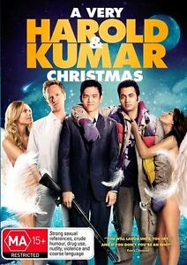 A Very Harold & Kumar Christmas DVD NEW & SEALED - FREE DELIVERY