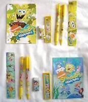 12 NICKELODEON Spongebob Squarepant Stationery Gift Set Child School Party Favor