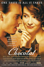 Chocolat 24x36 Poster Juliette Binoche Alfred Molina Award Winning 2000 Film NEW