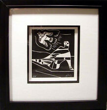 Neal Doty Cleopatra mini framed Hand Signed Art Lithograph, SUBMIT BEST OFFER
