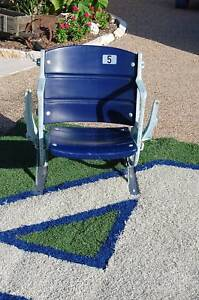Dallas Cowboys Irving complete Texas Stadium Seat Chair Game USED COA SuperBowl