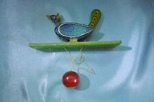 jouet original oiseau pendulaire (vintage)