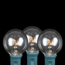 25 G40 5 Watt C7 E12 Outdoor Patio String Light Globe Replacement Bulbs Clear