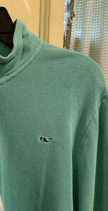 Vineyard Vines Boys Extra Large Zip Green Pullover