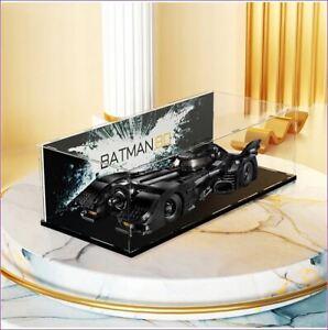 DK - Acrylic display case for Lego DC Batman1989 Batmobile 76139-FREE Shipping