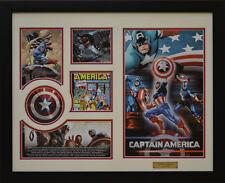Captain America Marvel Comics Limited Edition Framed Memorabilia (w)