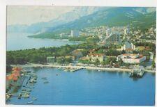 Makarska Jugoslavia 1986 Postcard 590a