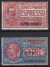 1926 Colonies Beyond Juba expressed n.1/2 well centered New MLH *
