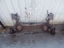 FIAT PANDA REAR AXLE DRUMS BRAKES + ABS