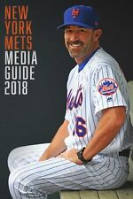 2018 NEW YORK METS MEDIA GUIDE FROM CITIFIELD