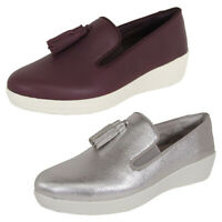 FitFlop Womens Tassel Superskate Slip On Loafer Shoes