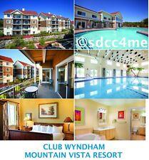 Wyndham Branson Resort 2BR/2BA DLX SEPTEMBER 6-10 Mountain Vista Meadows Ozarks