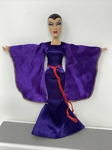 """Disney Store Barbie Doll Snow White Evil Queen Articulated 11.5"""" No Crown"""