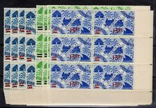 Coast Of Somali: Complete Set Of 8 Blocks Of 6 Stamps New N° 254/261 C