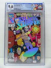 "Silver Surfer 75 - Volume 3 - ""Death"" Of Nova - Custom Label - CGC Graded 9.6"