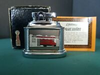 Vintage MTC Table Lighter ADVERTISING Brooklyn NY 1950-60s NEW with Orginal Box