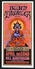 MINT & SIGNED Blues Traveler God Street Wine 1995 Ann Arbor Arminski Poster