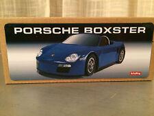 Porsche Blue Boxster Car Collector Series Schylling Tin Toys With COA 2012 New