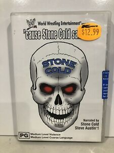 """WWE Stone Cold """"cause Stone Cold Said So"""" (DVD) NEW"""